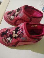 Pantofle buciki roz 26 Myszka Minnie