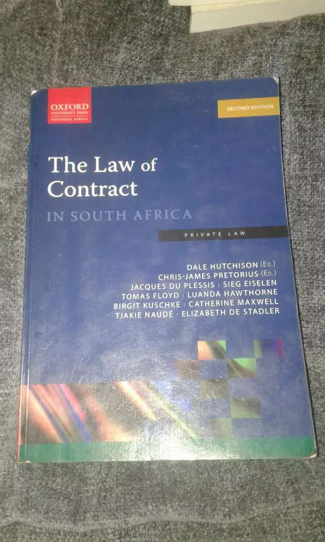 The Law Of Contract in South Africa - Private Law 2e 0