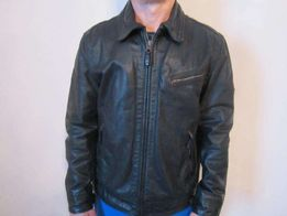 Мужская кожаная куртка Timberland