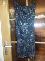 Niższa cena!!! Mini sukienka z brokatowym wzorem
