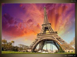 Wieża Eiffla, obraz na płótnie Canvas, pomysł na prezent, OBRAZY