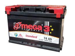 Akumulator Amega 12 V 74 Ah 680 A Romana Maya 1, Obornicka 252