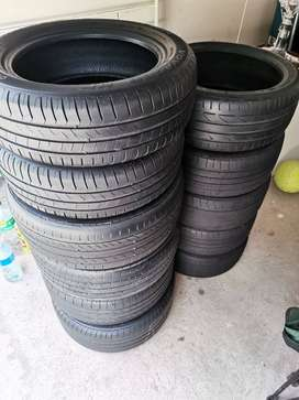 11 tyres for sale - different sizes available - make an offer