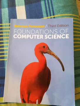 Foundations of conouter science 3rd edition for sale
