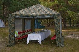 Аренда шатров, столов, стульев, мангалов, палаток, спальников, казанов