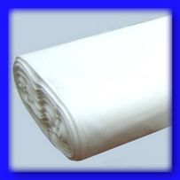 Белая ткань бязь хлопок 100%.