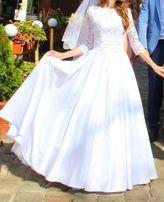 Плаття весільне біле, сукня весільна біла