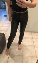 Кожаные штаны/джинсы/лосины