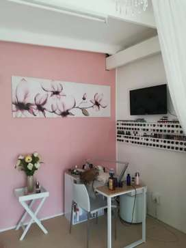 Beauty Salon[ Waxing, Nails, Tinting, Spa treatments]