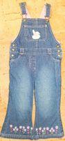 Стильный джинсовый комбинезон. на 2-3года. Мarks&Spencer. Англия