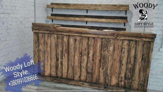 Акции Диваны из поддонов Loft. Барные стойки,барные стулья,столы,полки Киев - изображение 5