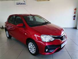 2018 Toyota Etios 1.5 Xs 5-door, Red with 20000km available now!