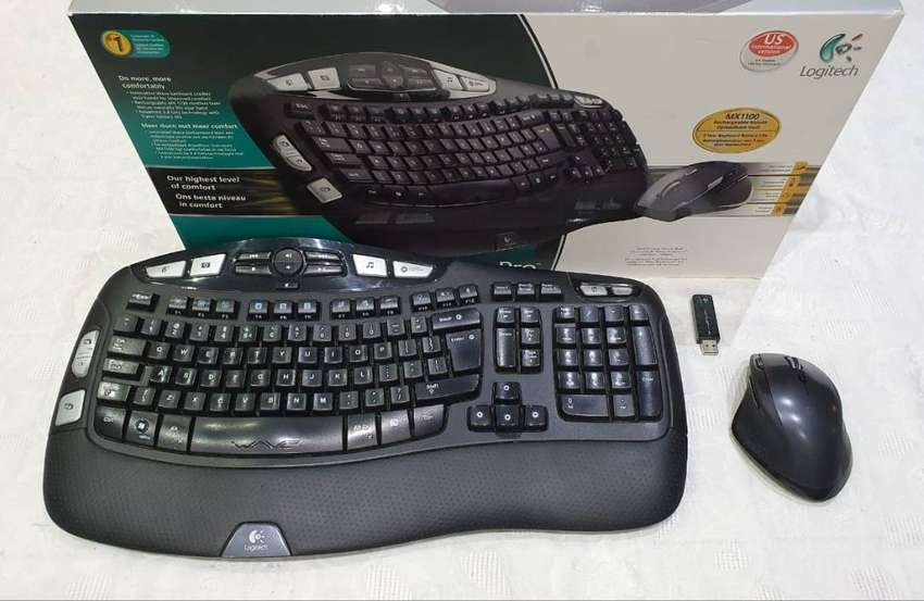 Logitech Wireless Desktop Wave Pro bundle for sale 0
