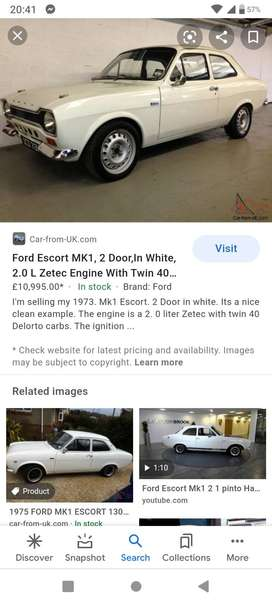 I am looking for ford escort mk 1 2 door
