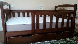 Кроватка, кровать - детская мебель новая, с ламелями, недорого купить