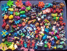 Игрушки из киндеров, 210 штук + 50, старые серии и новые, киндеры