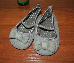 Фирменные H&M 22р 13,5см балетки туфельки на осень детские девочки