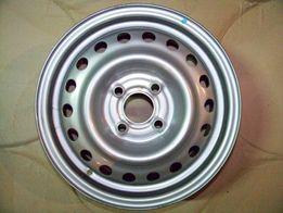 Колесный стальной диск R-15 64A50C Dacia Logan, Rebault, Clio, Modus