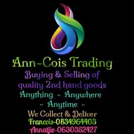 Buying & Selling of quality 2nd hand goods