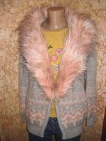 Женский теплый кардиган, кофта Miss Selfridge S-M размер