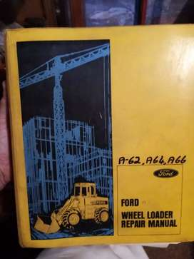 Ford wheel loader A62, A64, A66, workshop manual