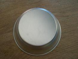 Миска пищевой алюминий новая