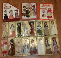 Коллекционные куклы серии DeAgostini Дамы эпохи