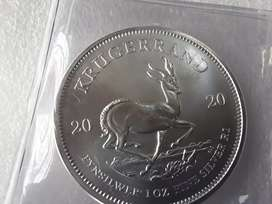 New 2020 silver kruger rand