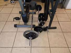 Weights and branch and bicycle