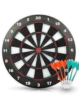 New! Kids Games:Dart Board Game Set with 6 Darts