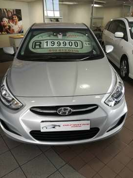 2016 Hyundai Accent 1.6i, excellent condition and full service history