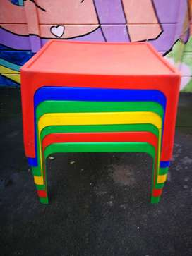 Kiddies plastic tables 2000 for sale