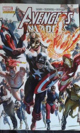 Marvel soft cover Avengers Invades comic book