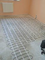 Теплый пол кабель, тонкий мат,терморегулятор. Тепла підлога. Доставка!