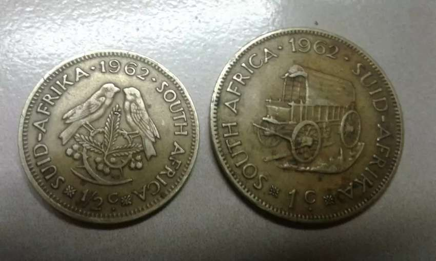 Old south african coins 0