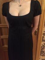 Чёрное платье Love Moschino