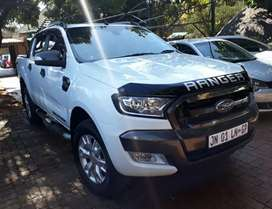 2016  Ford Ranger  3.2  6speed automatic