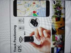 Tracking device for car or personal use with sound record and camera
