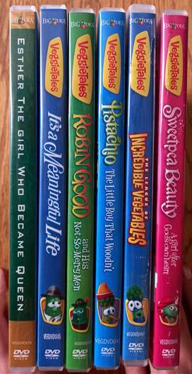 Bible lessons dvd x6