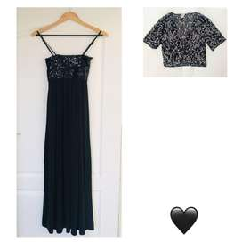 Little Black Dress Baby Doll Sequin & Little Jacket Both Included