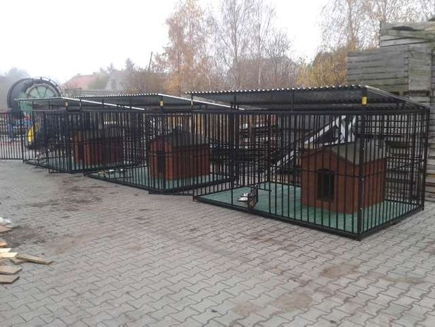 Kojec dla Psa Klatka Klatki Boks Zagroda Kojce dla Psów OPC24H !!! Wołów - image 8
