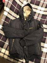 Тёплая куртка Armani на меху размер M