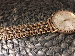 Золотые наручные мужские часы Полет Poljot