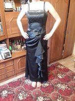 Вечернее, выпускное платье с накидкой, 44 р.