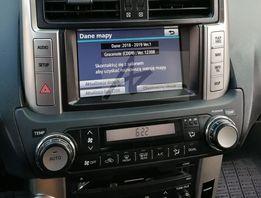Aktualizacja map Toyota 10.2018 v2 Avensis B9012 Rav4 B9017 Lexus HDD