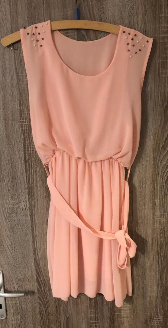 Šaty růžové Bára 0