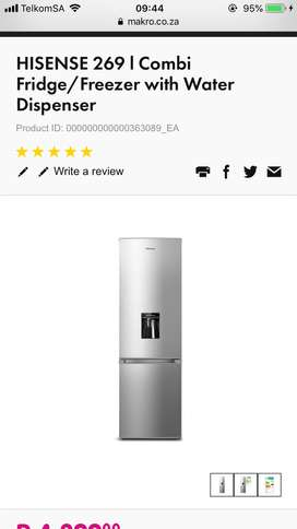 6 month old fridge for sale