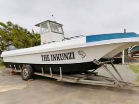 Inkunzi fishing charters.