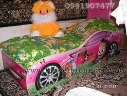Кровать машинка,машина,для девочки. Маша и медведь.Доставка по Украине