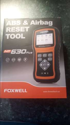 Car diagnostic tool for ABS, AIRBAGS and SAS FOXWELL NT630 PLUS
